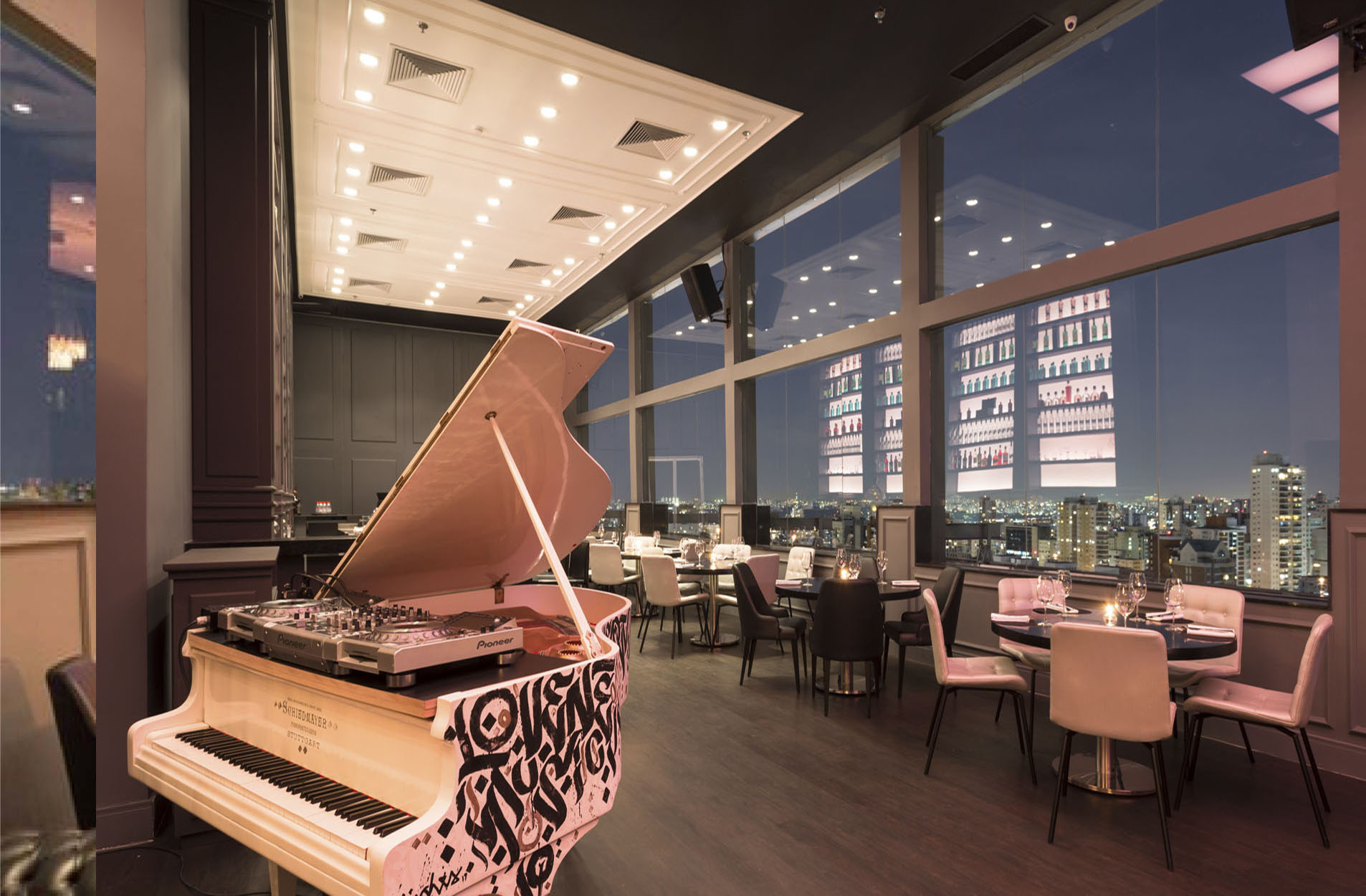 Tetto Rooftop Lounge Wzarzur